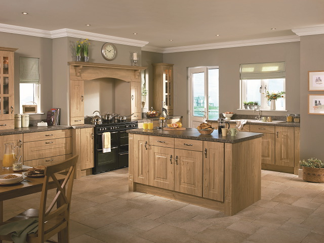 Rossapenna winchester oak Kitchen