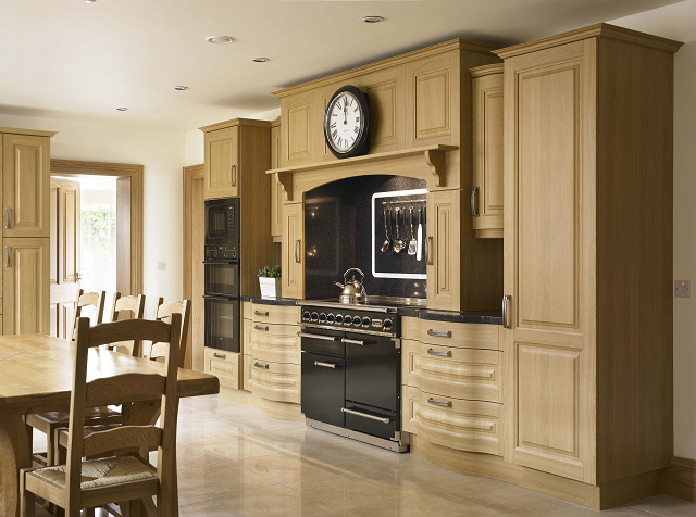 Turin lissa oak kitchen Kitchen