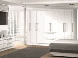 Gloss White wardrobe